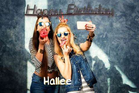 Happy Birthday to You Hallee