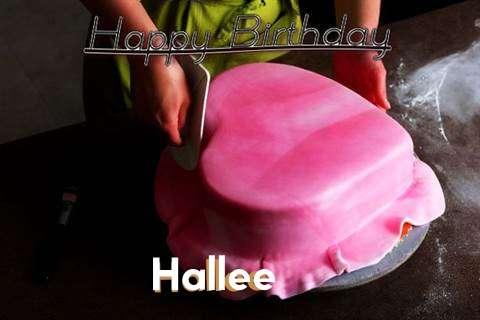 Happy Birthday Cake for Hallee
