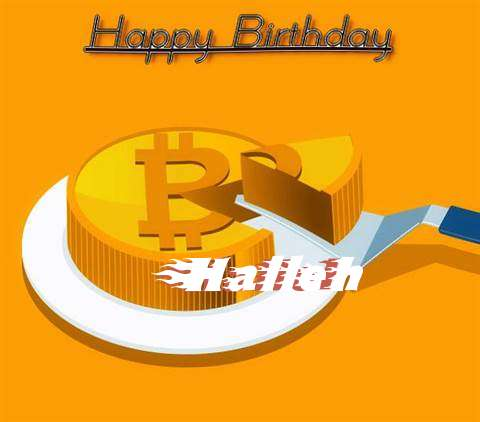 Happy Birthday Wishes for Halleh