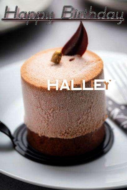 Happy Birthday Cake for Halley