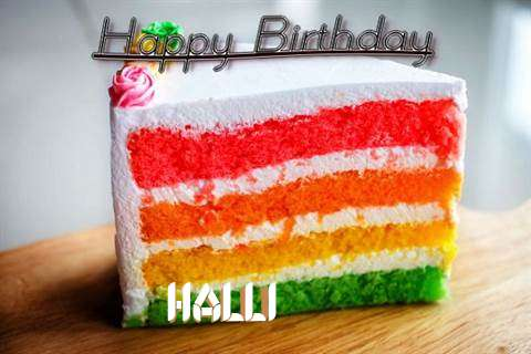 Happy Birthday Halli