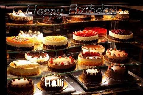 Happy Birthday to You Halli