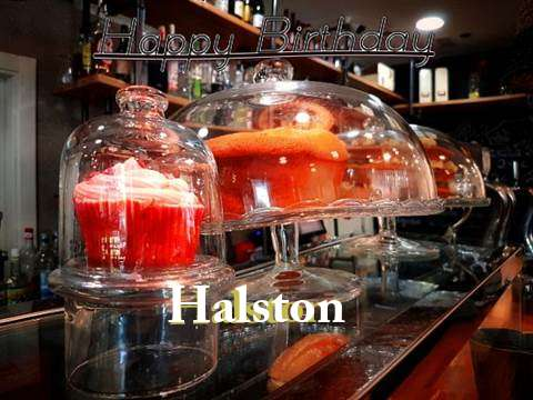 Happy Birthday Wishes for Halston