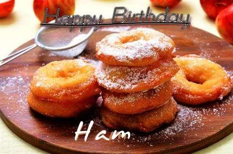 Happy Birthday Wishes for Ham
