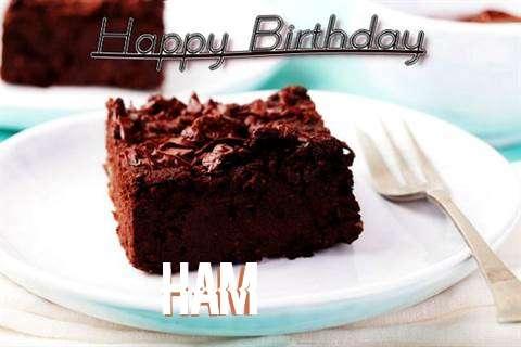 Happy Birthday Cake for Ham