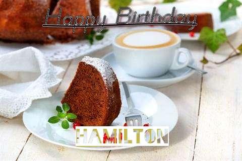 Birthday Images for Hamilton