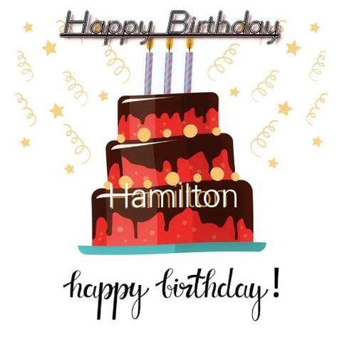 Happy Birthday Cake for Hamilton