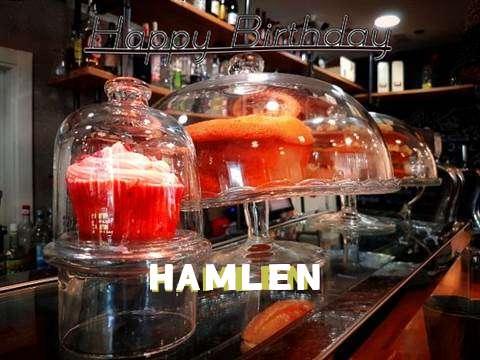 Happy Birthday Wishes for Hamlen