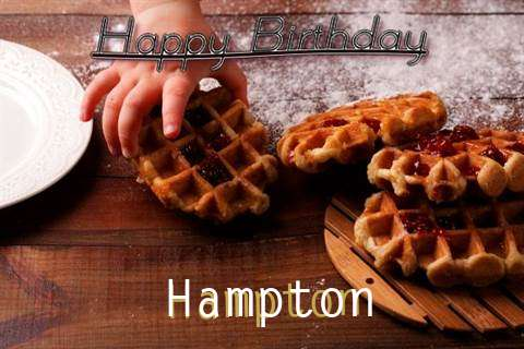 Happy Birthday Wishes for Hampton