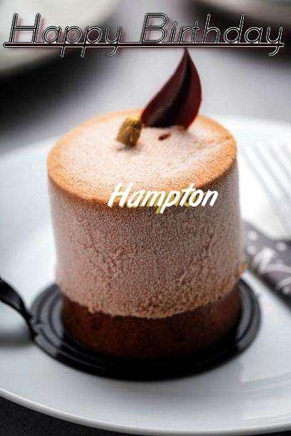 Happy Birthday Cake for Hampton