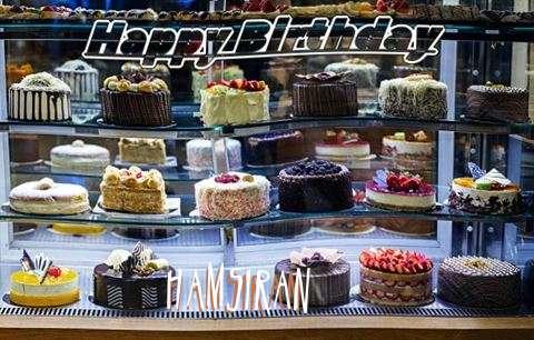 Happy Birthday Hamsiran Cake Image