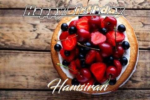 Happy Birthday Cake for Hamsiran