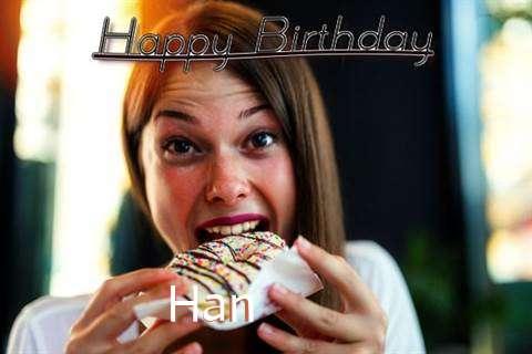 Han Birthday Celebration