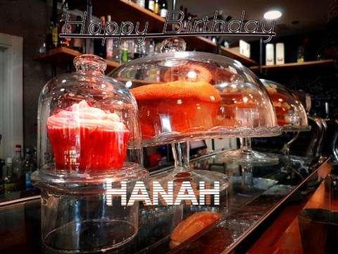 Happy Birthday Wishes for Hanah