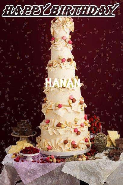Happy Birthday Hanan