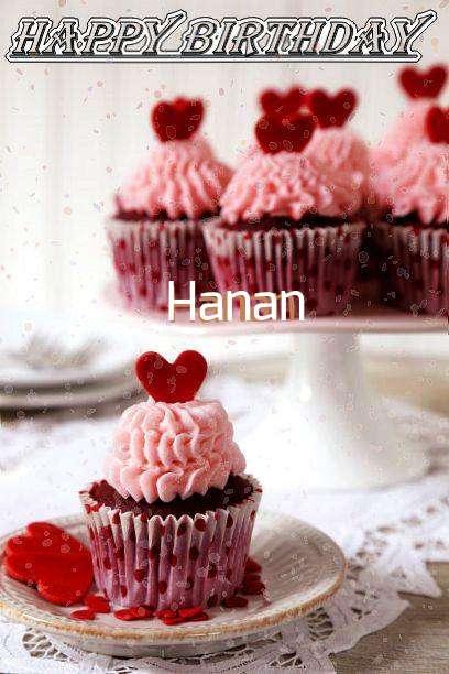 Happy Birthday Wishes for Hanan