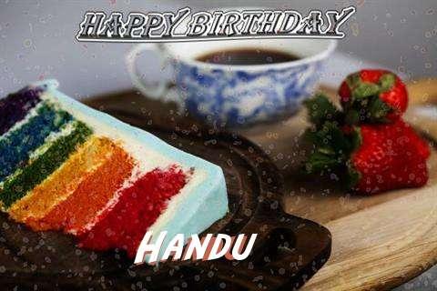 Happy Birthday Wishes for Handu