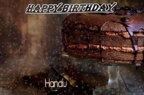 Happy Birthday Cake for Handu