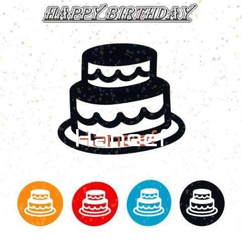 Happy Birthday Haneef Cake Image