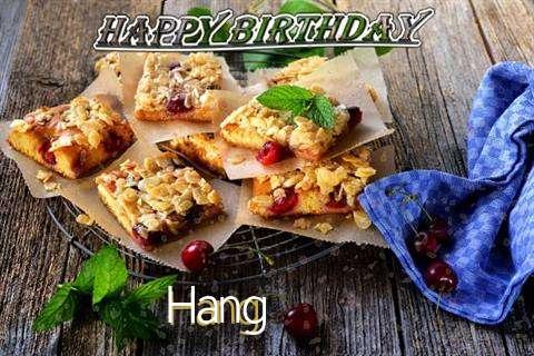 Happy Birthday Cake for Hang