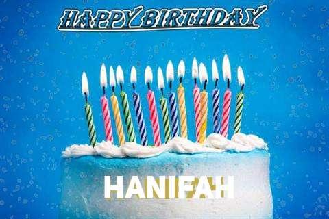Happy Birthday Cake for Hanifah