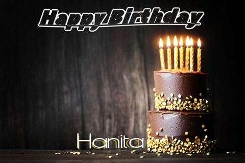 Happy Birthday Cake for Hanita