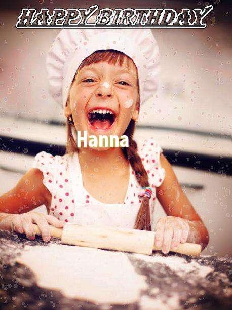 Happy Birthday Hanna