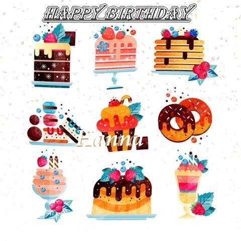 Happy Birthday to You Hanna