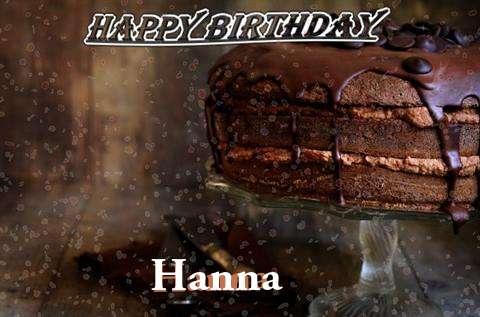 Happy Birthday Cake for Hanna
