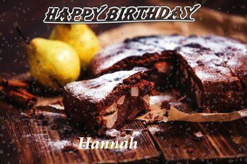 Happy Birthday to You Hannah