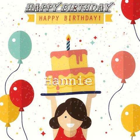 Happy Birthday Hannie