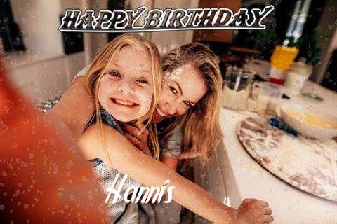 Happy Birthday Hannis