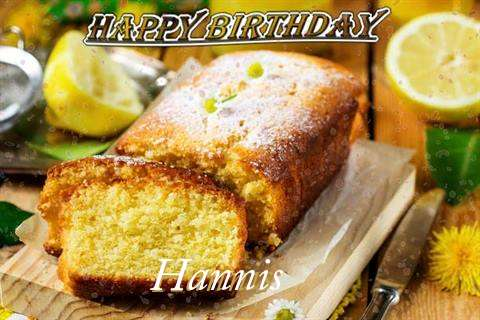 Happy Birthday Cake for Hannis