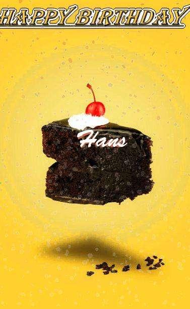Happy Birthday Hans