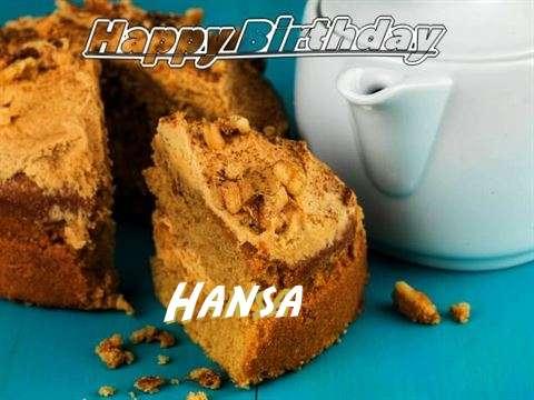 Happy Birthday Hansa