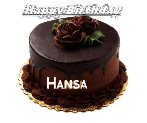 Birthday Images for Hansa