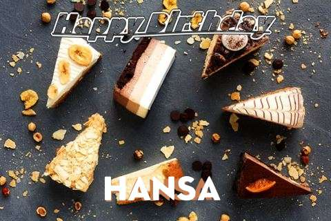 Happy Birthday to You Hansa