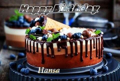 Happy Birthday Cake for Hansa