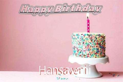 Happy Birthday Wishes for Hansaveni