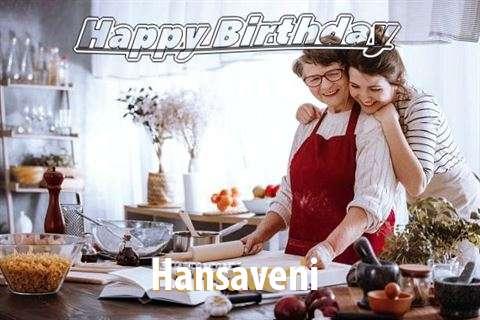 Happy Birthday to You Hansaveni
