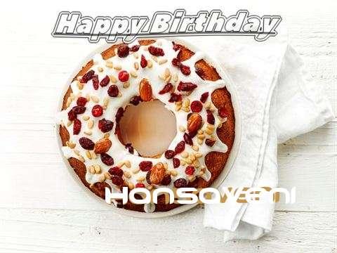 Happy Birthday Cake for Hansaveni