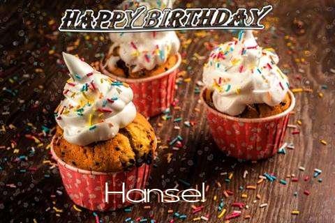 Happy Birthday Hansel Cake Image
