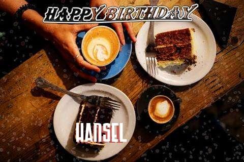 Happy Birthday to You Hansel