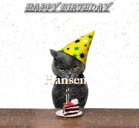 Birthday Images for Hansen