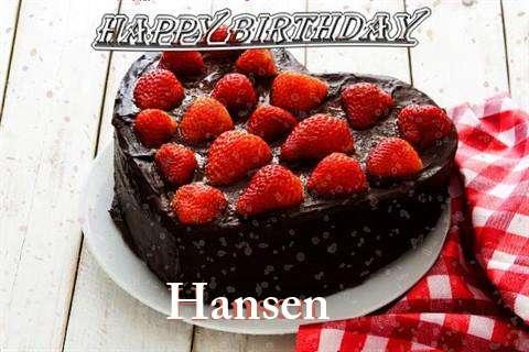Hansen Birthday Celebration