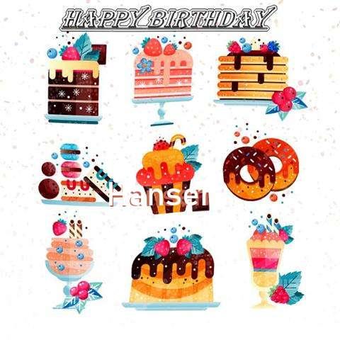 Happy Birthday to You Hansen