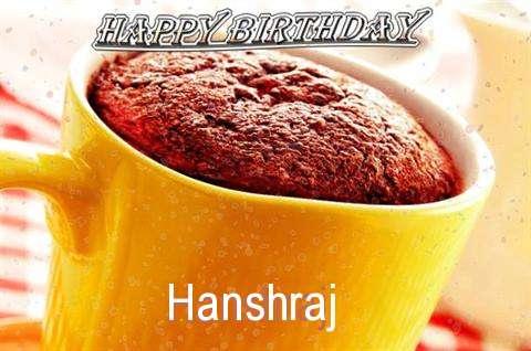 Birthday Wishes with Images of Hanshraj