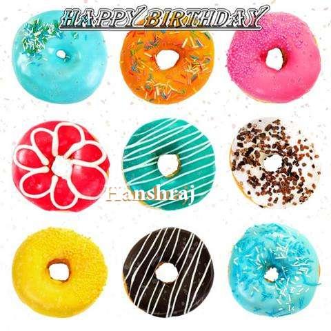 Birthday Images for Hanshraj