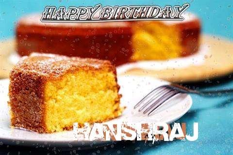 Happy Birthday Wishes for Hanshraj