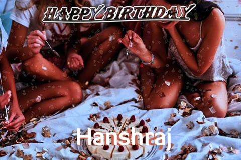 Happy Birthday Cake for Hanshraj